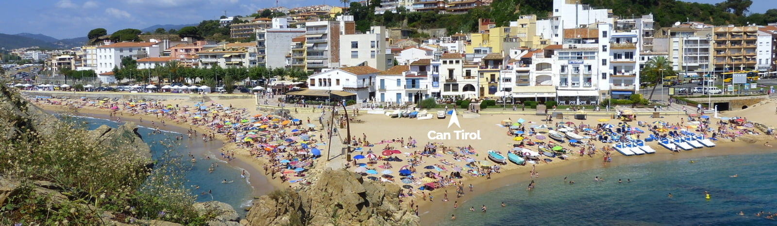 Location of Cocktail Bar Can Tirol in Blanes